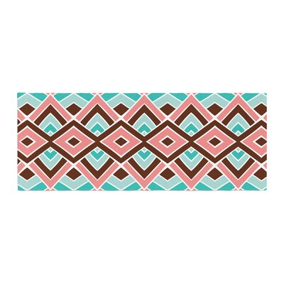 Pom Graphic Design Eclectic Bed Runner