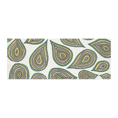 Pom Graphic Design Its Raining Leaves Bed Runner