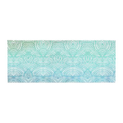 Pom Graphic Design Clouds in the Sky Bed Runner