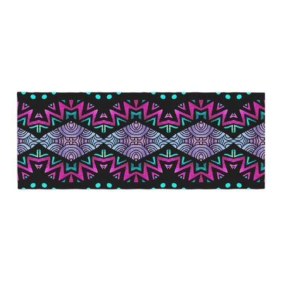 Pom Graphic Design Tribal Dominance Bed Runner