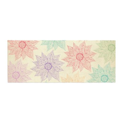 Pom Graphic Design Spring Florals Bed Runner