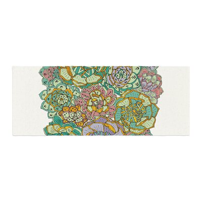 Pom Graphic Design Succulent Love Bed Runner