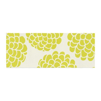 Pom Graphic Design Grape Blossoms Circles Bed Runner