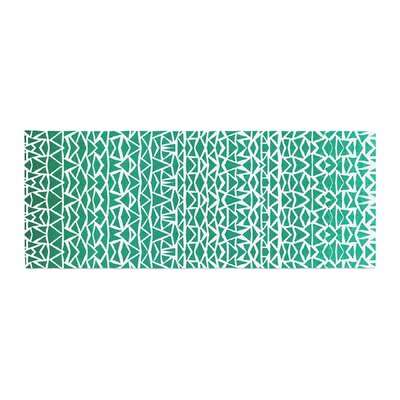 Pom Graphic Design Tribal Forrest Bed Runner