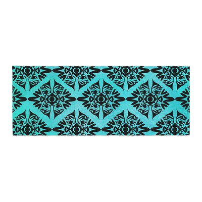 Pom Graphic Design Eye Symmetry Pattern Bed Runner