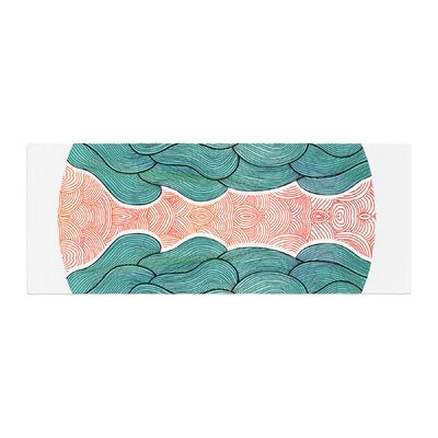 Pom Graphic Design Ocean Flow Bed Runner