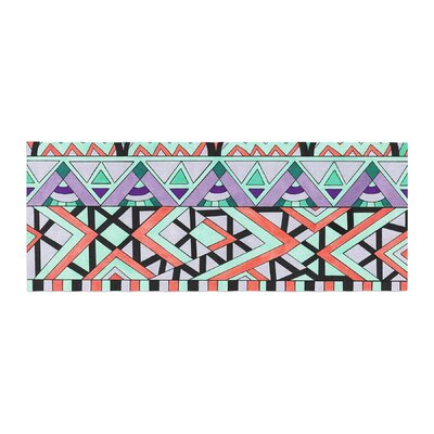 Pom Graphic Design Tribal Invasion Abstract Bed Runner