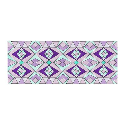 Pom Graphic Design Geometric Flow Geometric Bed Runner