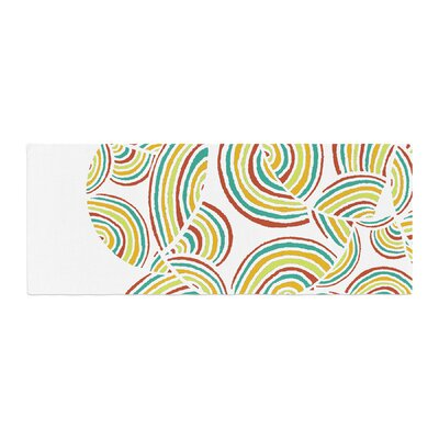 Pom Graphic Design Rainbow Sky Bed Runner