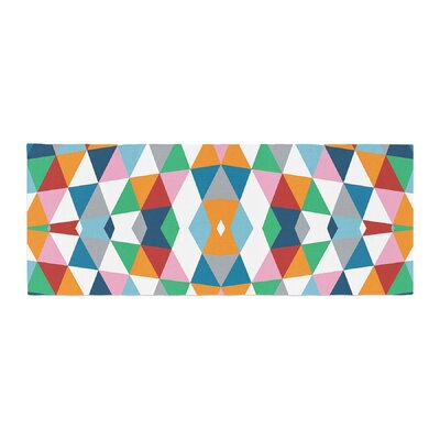 Project M Geometric Bed Runner
