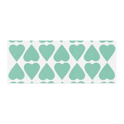Project M Diamond Hearts Bed Runner