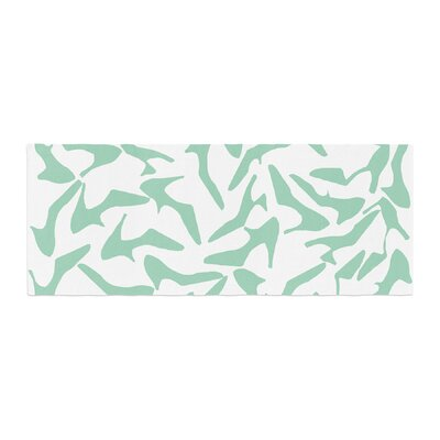 Project M Shoe Bed Runner Color: Mint