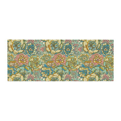 Pom Graphic Design Blooming Succulents Bed Runner