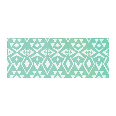 Pom Graphic Design Ancient Tribe Bed Runner