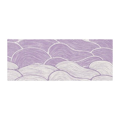 Pom Graphic Design The Seas Waves Bed Runner