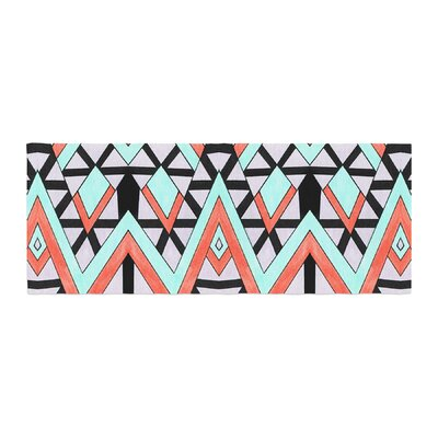 Pom Graphic Design Geometric Mountains Bed Runner
