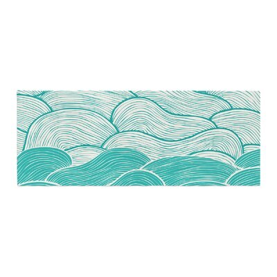 Pom Graphic Design The Calm and Stormy Seas Bed Runner
