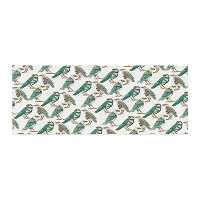 Pom Graphic Design Hey Little Birds Illustration Bed Runner