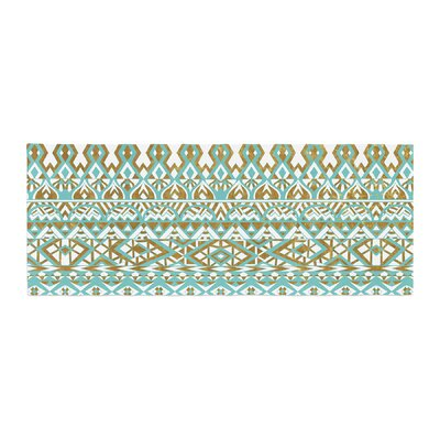 Pom Graphic Design Tribals Bed Runner
