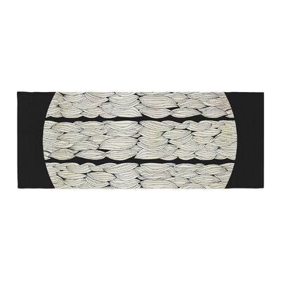 Pom Graphic Design La Luna Nature Illustration Bed Runner