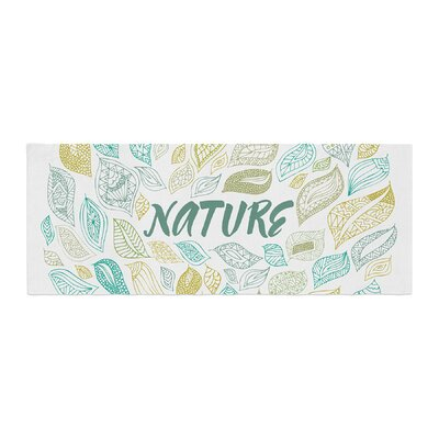 Pom Graphic Design Nature Earth Bed Runner