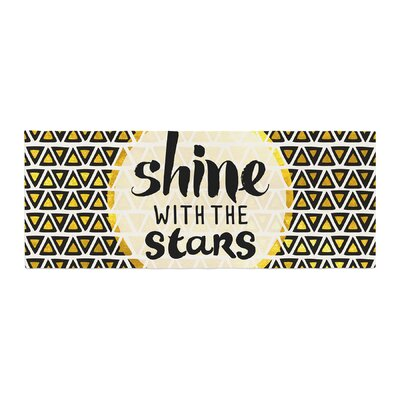 Pom Graphic Design Shine with the Stars Bed Runner