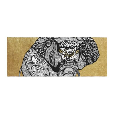 Pom Graphic Design Elephant Bed Runner