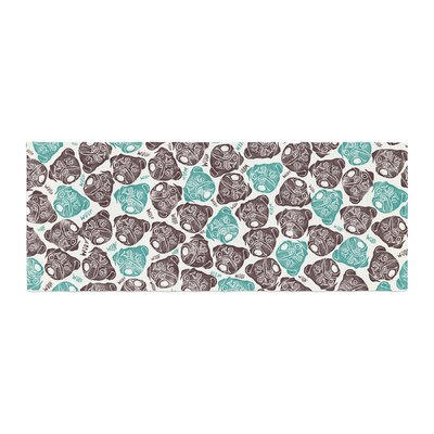 Pom Graphic Design The Barking Pug Bed Runner