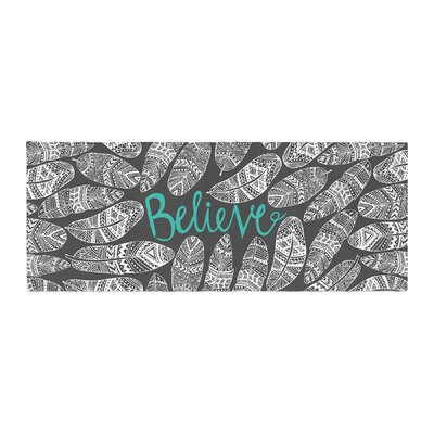 Pom Graphic Design Believe in Yourself Bed Runner