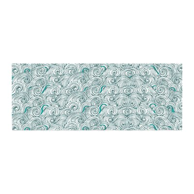 Pom Graphic Design Sunny Tribal Seas II Ocean Bed Runner