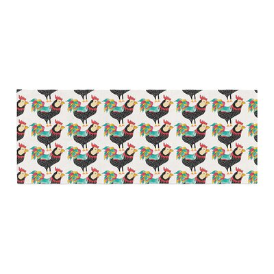 Pom Graphic Design The Rooster Squad Pattern Bed Runner