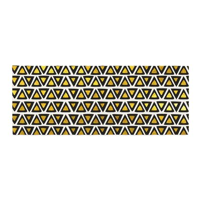 Pom Graphic Design Aztec Triangles Bed Runner