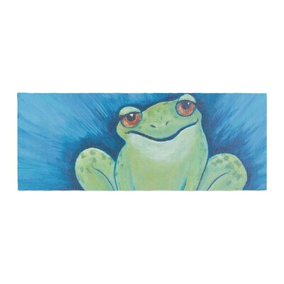 Padgett Mason Ribbit Ribbit Bed Runner