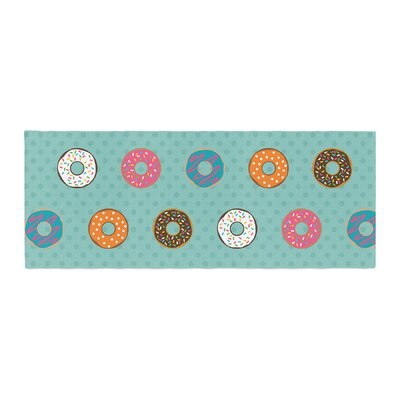 Juan Paolo Doughnut Brigade Food Bed Runner