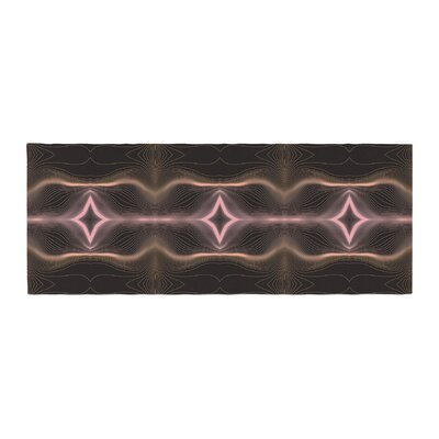 Pia Schneider Hazelnut Pale Line Vibes Digital Bed Runner