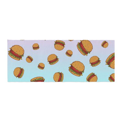 Juan Paolo Cheeseburger Paradise Bed Runner
