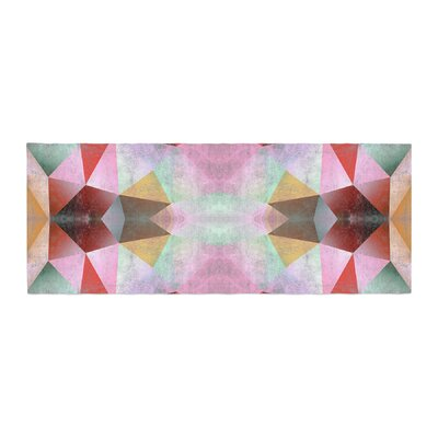 Pia Schneider Polygon Diamond I Mixed Media Bed Runner