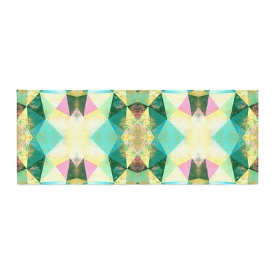 Pia Schneider Polygon Diamond II Mixed Media Bed Runner