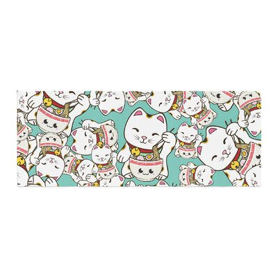 Juan Paolo Ramen Cats Bed Runner