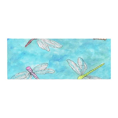 Rosie Brown Dragonfly Bed Runner