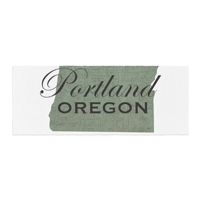 Juan Paolo Portland Coordinates Bed Runner
