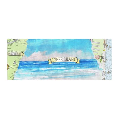 Rosie Brown Tybee Island Ocean View Bed Runner