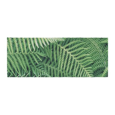 Richard Casillas Ferns Bed Runner