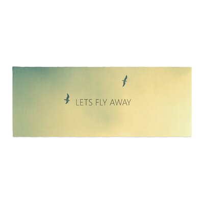 Richard Casillas Lets Fly Away Bed Runner
