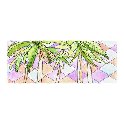 Rosie Brown Geometric Tropic Bed Runner
