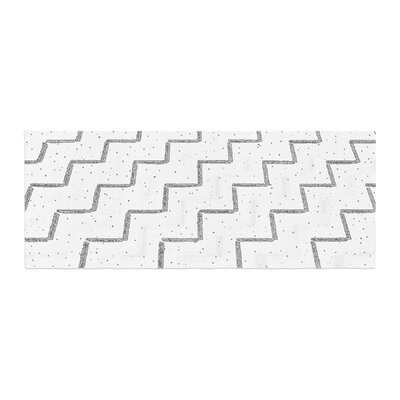Richard Casillas Speckled ZigZag Bed Runner