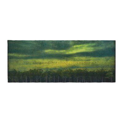 Robin Dickinson I Like This Place Bed Runner