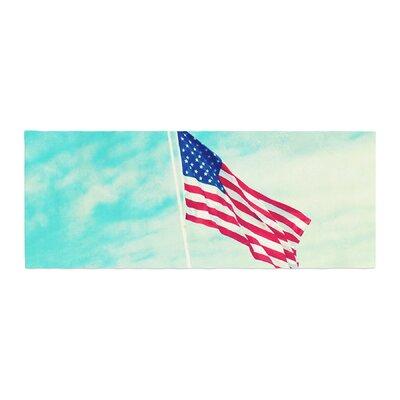 Robin Dickinson USA Colors Flag Bed Runner