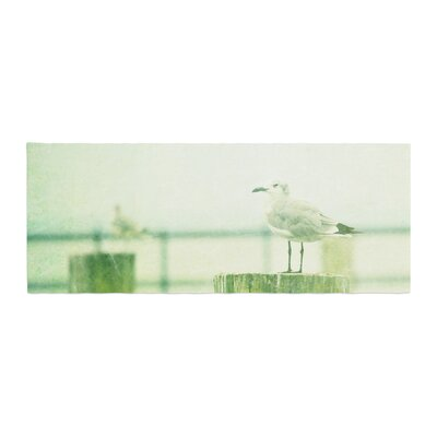 Robin Dickinson Sweetest Hours Seagull Bed Runner