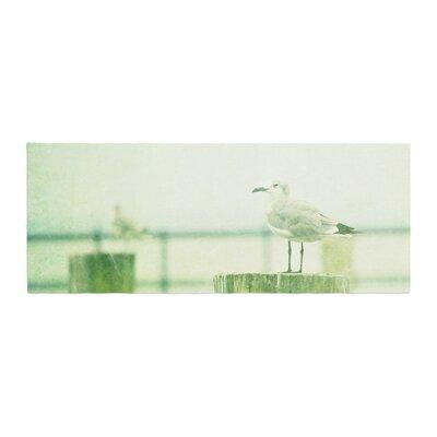 Robin Dickinson Sweetest Hours Seagull Bed Runner